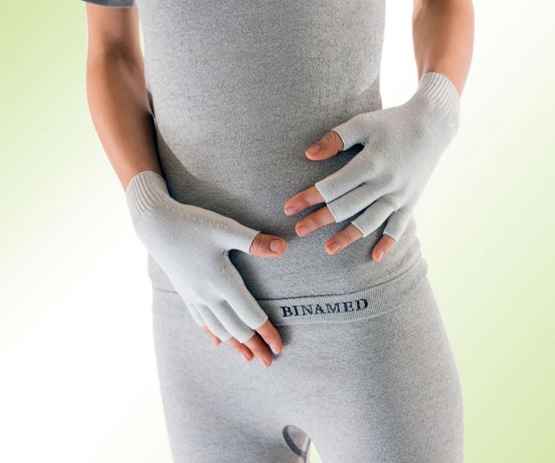 BINAMED® - Fingerhandschuhe ohne Kuppen Damen